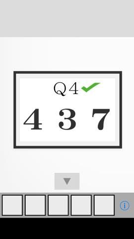 Th 脱出ゲーム Q  攻略と解き方 ネタバレ注意  2951
