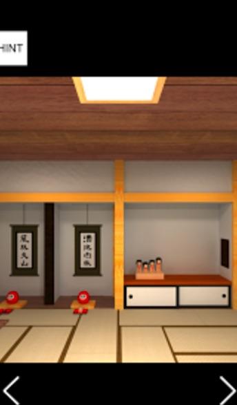 脱出ゲーム 忍者屋敷 からくり仕掛けの和室から脱出  攻略法