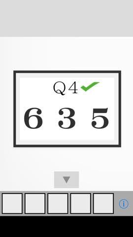 脱出ゲーム Q2 攻略と解き方 ネタバレ注意  4327