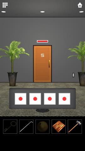脱出ゲーム DOOORS 5  攻略とヒント ネタバレ注意  5628