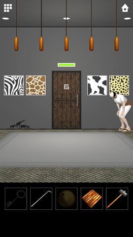脱出ゲーム DOOORS 5  攻略とヒント ネタバレ注意  5636