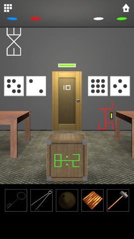 脱出ゲーム DOOORS 5  攻略とヒント ネタバレ注意  5663