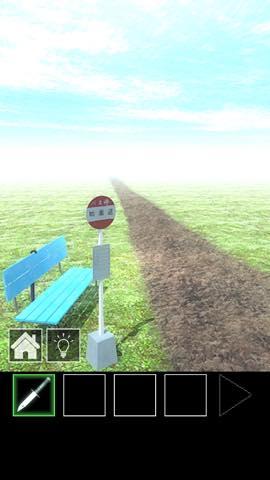 脱出ゲーム バス停のある道  攻略とヒント ネタバレ注意  3