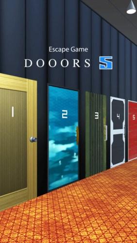 iPhone脱出ゲーム DOOORS 5 攻略・答え 一覧