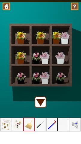 Th 脱出ゲーム Flower Room  攻略とヒント ネタバレ注意  5801