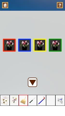 Th 脱出ゲーム Flower Room  攻略とヒント ネタバレ注意  5803