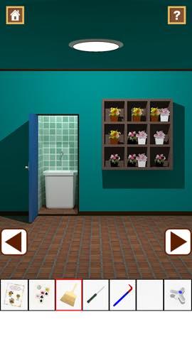 Th 脱出ゲーム Flower Room  攻略とヒント ネタバレ注意  5805