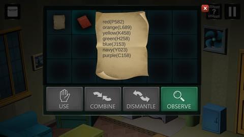 Th Adnroidスマホゲームアプリ「拘留室:脱出ゲーム」攻略 lv1 2