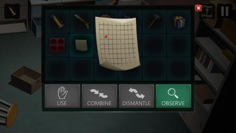 Th Adnroidスマホゲームアプリ「拘留室:脱出ゲーム」攻略 lv9 11