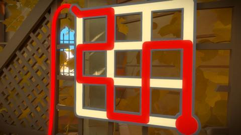 Th iPhoneゲームアプリ「The Witness」攻略 1886