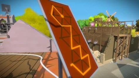 Th iPhoneゲームアプリ「The Witness」攻略 1899