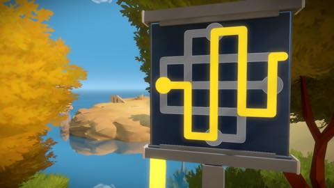 Th iPhoneゲームアプリ「The Witness」攻略 1940