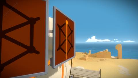 Th iPhoneゲームアプリ「The Witness」攻略 1951
