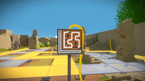 Th iPhoneゲームアプリ「The Witness」攻略 2005