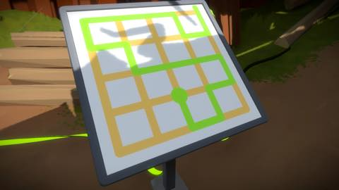 Th iPhoneゲームアプリ「The Witness」攻略 2035