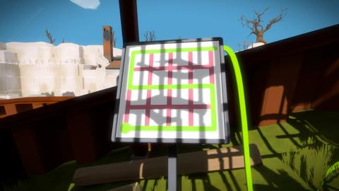 Th iPhoneゲームアプリ「The Witness」攻略 2036