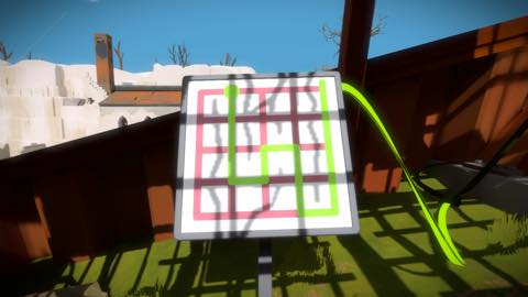 Th iPhoneゲームアプリ「The Witness」攻略 2037