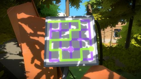 Th iPhoneゲームアプリ「The Witness」攻略 2051