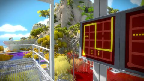 Th iPhoneゲームアプリ「The Witness」攻略 2085