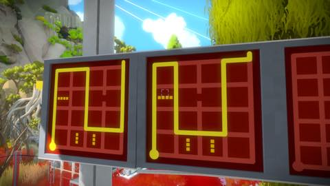 Th iPhoneゲームアプリ「The Witness」攻略 2086