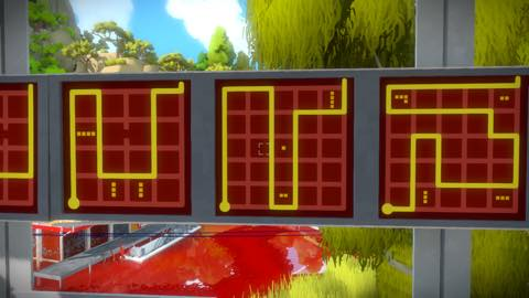 Th iPhoneゲームアプリ「The Witness」攻略 2087