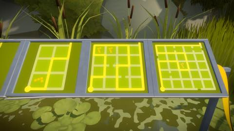 Th iPhoneゲームアプリ「The Witness」攻略 2091
