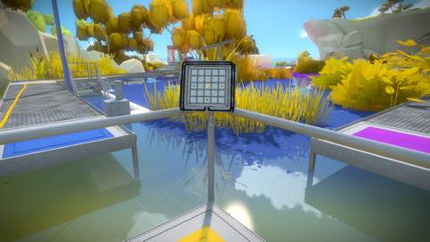 Th iPhoneゲームアプリ「The Witness」攻略 2092