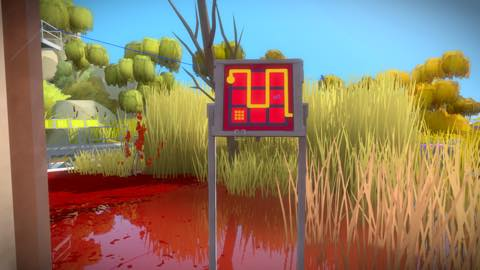 Th iPhoneゲームアプリ「The Witness」攻略 2109