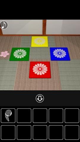 Th Adnroidスマホゲームアプリ脱出ゲーム 仕掛けのある和室からの脱出 攻略 6