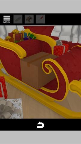 Th 脱出ゲーム Merry Xmas 暖炉とツリーと雪の家  攻略 3705