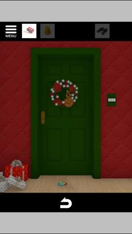 Th 脱出ゲーム Merry Xmas 暖炉とツリーと雪の家  攻略 3731