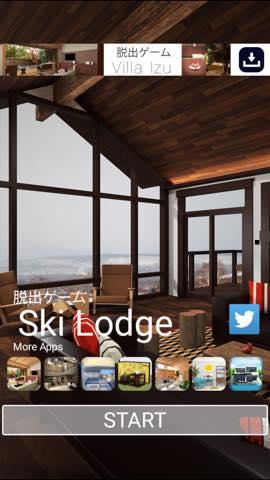 脱出ゲーム Ski Lodge 攻略