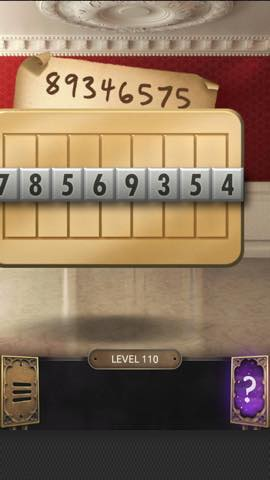 Th 脱出ゲーム  100 Doors Challenge  攻略 110 0