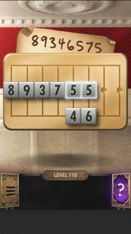 Th 脱出ゲーム  100 Doors Challenge  攻略 110 6