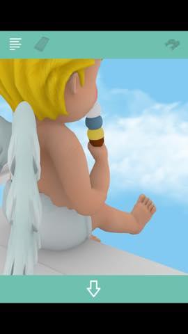 Th 脱出ゲームBaby 雲より上のプカプカハウス 攻略 3975