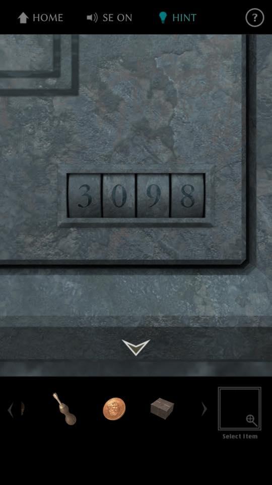 Th 脱出ゲーム The TREASURE 攻略 3517