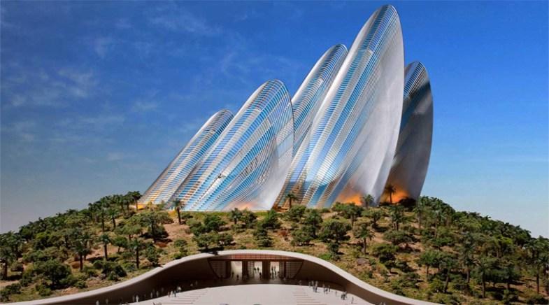 Wing Shape Zayed National Museum, Abu Dhabi