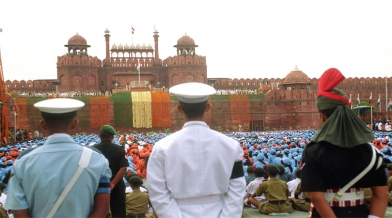 15th aug at red fort