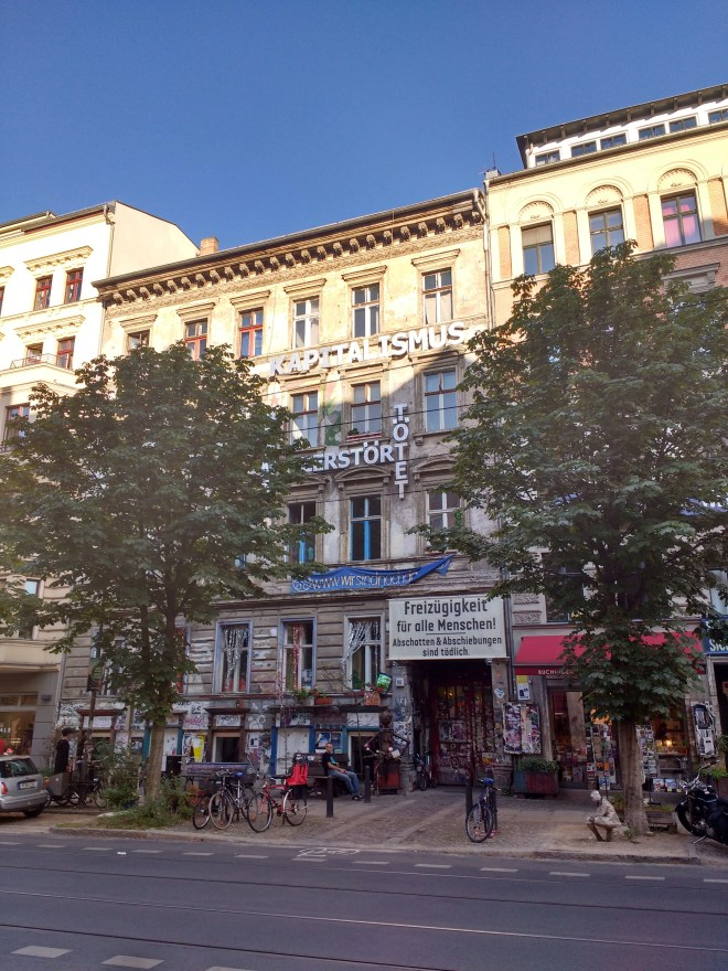 one of berlin's oldest alternative housing projects