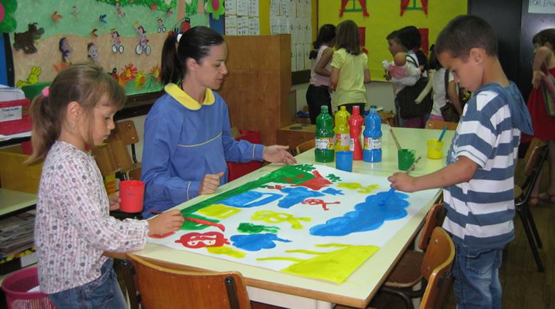 Troca de experiências escola da Marinheira