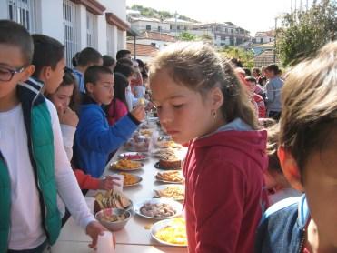 Dia da Família na escola da Marinheira
