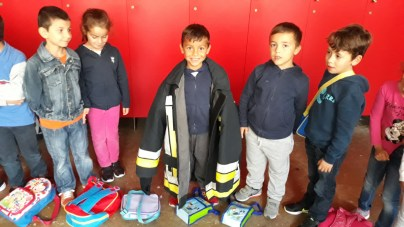 Visita de Estudo aos Bombeiros Municipais do Funchal
