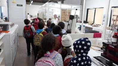 Visita de Estudo à Fábrica Insular (09-03-2018) EB1/PE da Marinheira