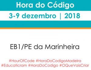 Hora do Código 2018 na EB1/PE da Marinheira
