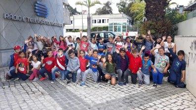Visita de estudo à RTP Madeira