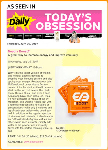 The Daily Loves EBOOST