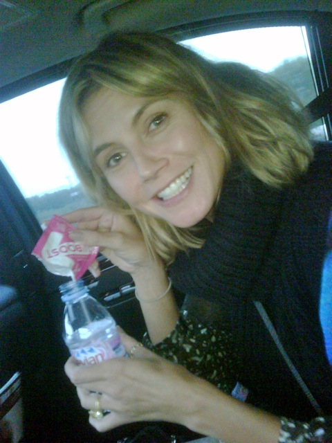 Heidi Klum EBOOST Healthy Energy Drink