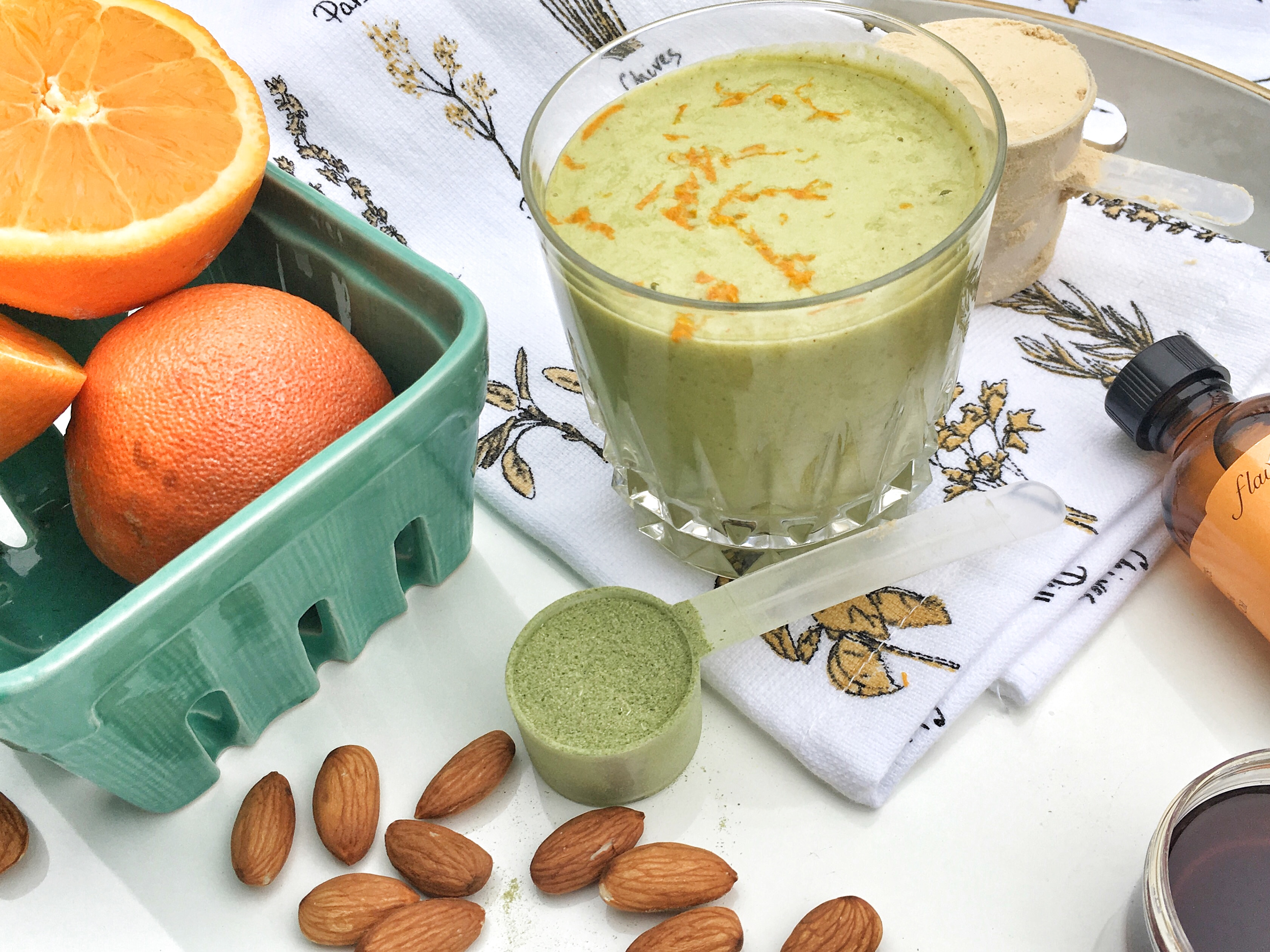 IMG 1146 1 - Cheers to this Immunity Boosting Vitamin E Boost (Eboost) Smoothie