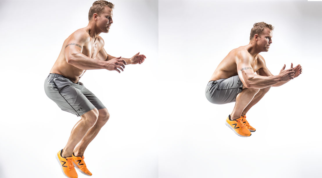 Tuck Jump 0 - Kick Your Week In Gear With This Tough Bodyweight Workout