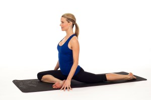 Pigeon prep 300x200 - 8 Popular Yoga Stretches That Can Help Ease the Pain of Sciatica